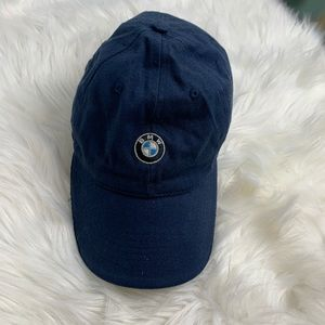 BMW invitational hat navy blue